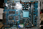 mainboard with the network switch