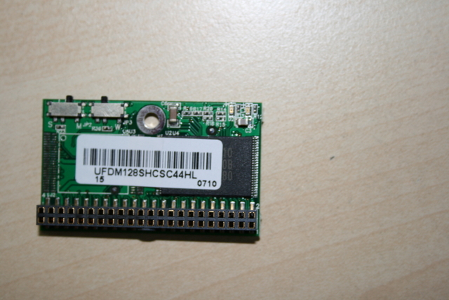original flash chip downside ( IDE connector, 44 pin )