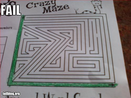 fail-owned-crazy-maze-fail