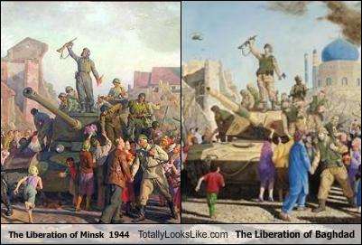 the-liberation-of-minsk-1944-totally-looks-like-the-liberation-of-baghdad